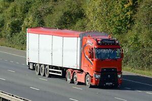 Truck Photo 12x8 - Renault Range T High - O'Harte - (IRL) 192 MN 291