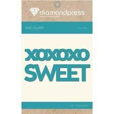 Sweet xoxoxo - Diamond Press Cutting Die - Word Dies DP1193