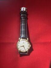 vintage omega solid gold mens watch