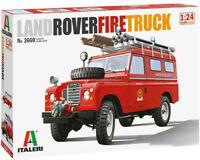 Italeri 3660 Land Rover SWB UK Fire Truck 1:24 Plastic Model Kit