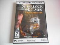 JEU PC CD- ROM / SHERLOCK HOMES / LE MYSTERE DE LA BOUCLE D'ARGENT