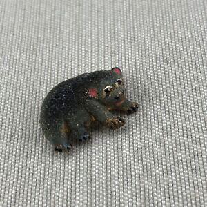 Wombat Vintage Australia Animal Lapel Pin Brooch