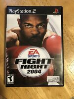 Fight Night 2004 for Sony PlayStation 2 (PS2) w/ Manual Included