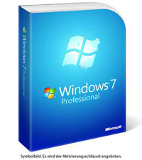 Windows 7 Professional [32 Bit & 64 Bit]✔ Vollversion ✔  BLITZVERSAND ✔