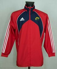 MUNSTER RUGBY  IRELAND TRACK JACKET ADIDAS 2007 SIZE L EXCL