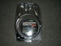 Monster Cable Prolink Keyboard Instrument Cable 25ft NEW 24K Gold Contacts midi