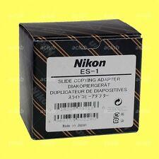 Genuine Nikon ES-1 Slide Copying Adapter for BR-2A BR-3 BR-5