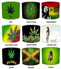 Abat-Jour Marijuana Weed Cannabis Couettes & Marijuana Mural Décalques