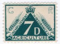 (I.B) George V Revenue : Agricultural Insurance 7d