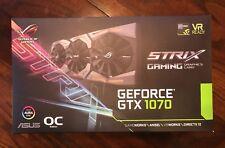 ASUS GeForce GTX 1070 8gb Rog STRIX OC Edition