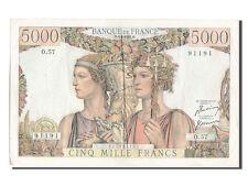 [#203041] France, 5000 Francs, 5 000 F 1949-1957 ''Terre et Mer'', 1954, Km