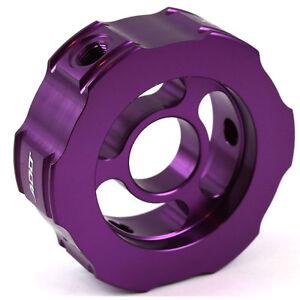 ADD W1 Oil Block Adapter Oil Pressure temp gauge sensor adapter - PURPLE