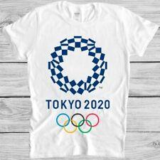 Tokyo 2020 T Shirt Japan Olympics Games Logo Retro Vintage Hipster Tee 51934