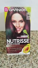 Garnier Nutrisse Hair Color, Br2 Dark Intense Burgundy