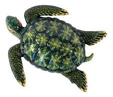 Tropical Green Sea Turtle Beach Tiki Kid Nursery Bath Wall Decor 8 inch 8Stw06