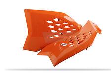 KTM Radiateur Scoops / Couvre KTM SX 65 2009 - 15 orange Polisport