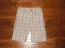 Boys Lee Dungarees Relaxed Fit Sz 5 Plaid Shorts w/Adjuable Waist NWOT