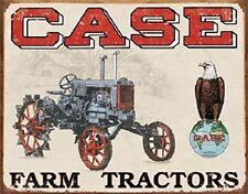 Case Farm Tractors Vintage Style Barn Advertising Retro Metal Tin Sign New