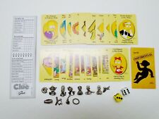 CLUE: The Simpsons Edition Replacement Metal Pieces Tokens Dice Cards
