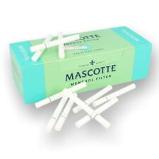 Mascotte Filter Tubes Menthol Make your Own 100 to 2000 Tubes