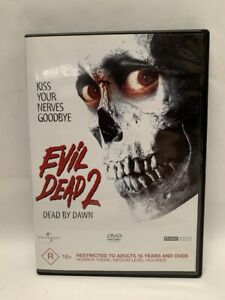 EVIL DEAD 2 rare AU DVD cult 80s Sam Raimi horror classic