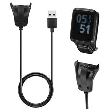 Data Sync USB Charger Clip Charging Cable For TomTom 2 3 Runner Golfer GPS Watch