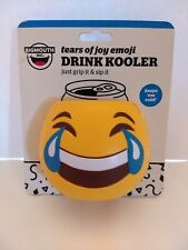 Tears Of Joy Emoji - Foam Drink Can Bottle Beer Soda Cooler Cooler - BigMouth