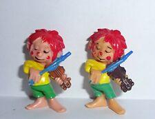 LUSTIGER MUSIKANT Variante Geige hellbraun Der kl. Kobold Pumuckl 1985 ORIGINAL