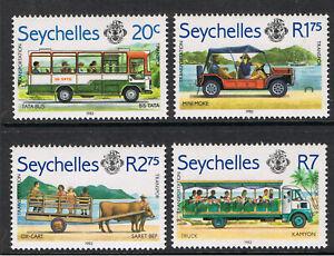 SEYCHELLES 1983 ISLAND TRANSPORT