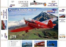 Dora Wings 72017 1:72nd scale Percival Proctor Mk.III civil service 4 schemes