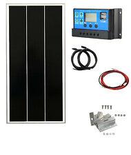 Shingle 100W monocrystaline solar panel kit 12v battery charger motorhome
