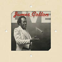 James Cotton - Live at Antones 180g re-issue NEW! SEALED! w/ download card