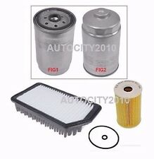 FOR HYUNDAI I30 ACTIVE BLUE DRIVE 1.6DT CRDI D4FB OIL/AIR/DIESEL FILTER 12>ON
