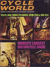 Cycle World Magazine July 1969 Largest Motorcycle Show 080217nonjhe