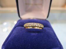 Bague or jaune et diamants / Gold ring diamonds