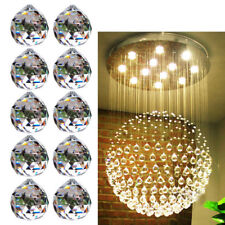 30mm Clear Crystal Feng Shui Lamps Ball Prism Rainbow Sun Catcher Wedding Decor