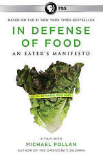 In Defense of Food, New DVDs