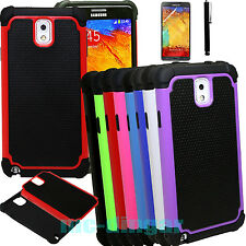 For Samsung Galaxy Note 3 III N9005 Rugged Impact Armor Hybrid Hard Case Cover