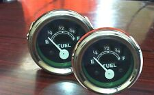 "Fuel Gauge 2""  Case , IH, Massey, David Brown, any other Tractors/Trucks (2 Pcs)"
