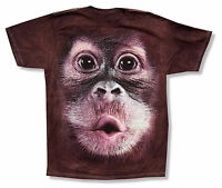 d591c3c4 Mountain Monkey Eyes Youth Kids Brown Tie Dye T Shirt New Official ...