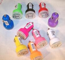 1 BAG DUEL USB CAR CHAGER BULK PACKAGE cell phone accessory cell 10 PC BAG #473