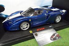 FERRARI  FXX bleu au 1/18 HOT WHEELS ELITE J8247 voiture miniature de collection