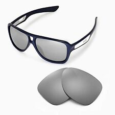 New WL Polarized Titanium Replacement Lenses For Oakley Dispatch II Sunglasses