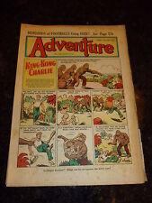 ADVENTURE Comic - No 1388 - Date 25/08/1951 - UK Paper Comic (King-Kong)