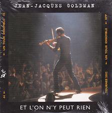 CD CARTONNE 2T JEAN JACQUES GOLDMAN ET L'ON N'Y PEUX RIEN NEUF SCELLE 2003