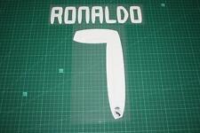 Real Madrid 10/11 #7 RONALDO Awaykit / 3rd Awaykit Nameset Printing