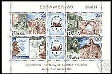 ESPAÑA 1980 2583 Espamer 80 HB