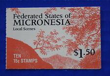 Micronesia (#33a) 1988 Local Scenes MNH booklet