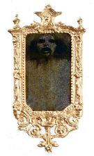 1//12 Dollhouse Miniature Metal Mirror Mirror Gold ZH