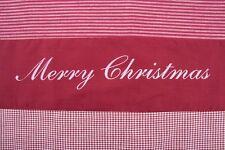 """Set de table """" Joyeux Noël """", Patchwork sur 100% coton, uni nourris"""